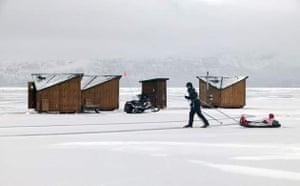 Ark hotel in northern Sweden