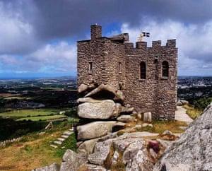 Carn Brae Castle in Redruth, Cornwall