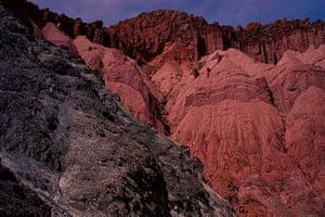 Volcanic rock formations, Tupiza