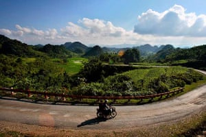 Motorbiking, Ha Giang, Vietnam