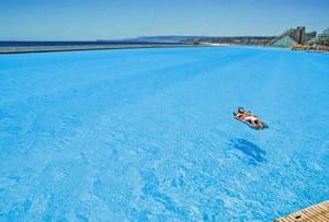 swimming pool at the San Alfonso del Mar resort in Algarrobo, Chile