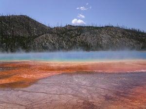 Prismatic lake, Yellowstone National Park, United States