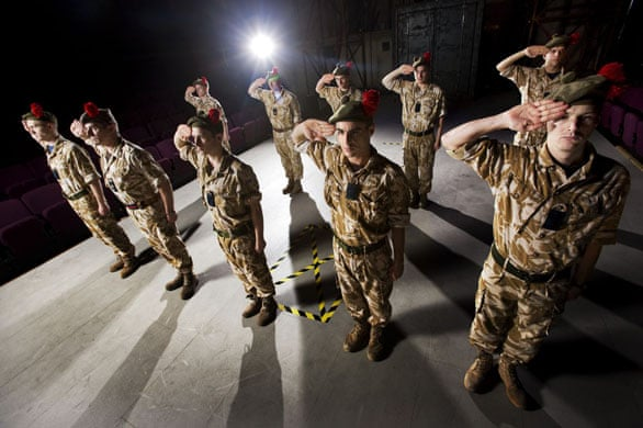 Black Watch: The story of the play   Stage   The Guardian