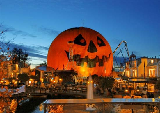 halloween at europa park travel the guardian