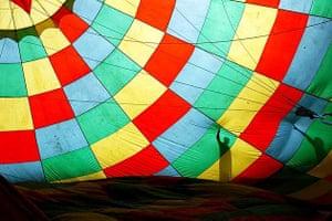 Hot air balloon, Yangshuo, China