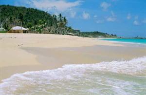 Johnson's Point Beach, Antigua