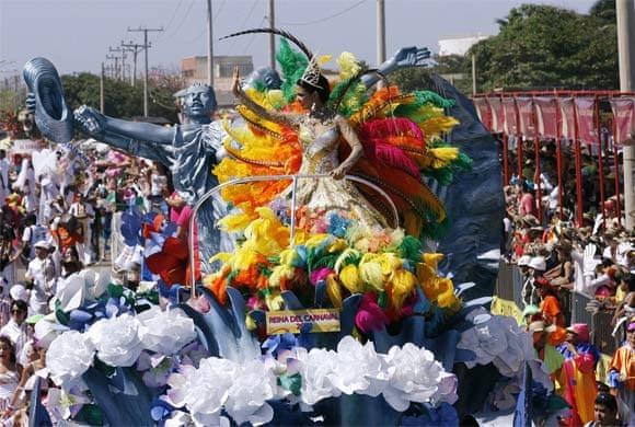 Mardi Gras Pictures - Mardi Gras in Colombia