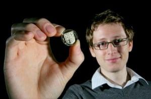 Matthew Dent designer of new coins