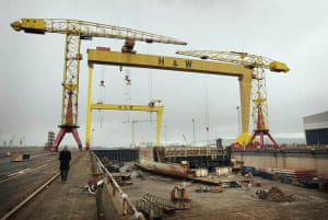 Harland and Wolff shipbuilders