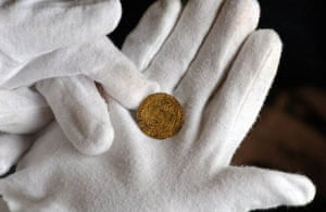 A coin found onboard the ship