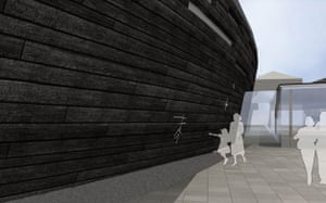 The design for a new museum to house the Tudor warship Mary Rose