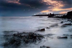 An artist's impression of Birnbeck pier in Weston-Super-Mare - Weston Super Star!