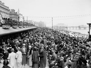 April 3 1926, Eastbourne, UK: People during the Easter holiday