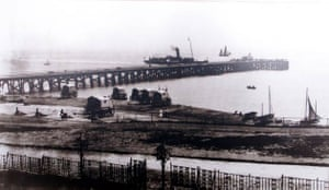 1900, Southwold, UK: The pier which was extended and opened in 2001