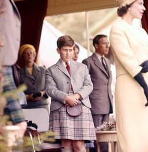 Prince Charles at the Highland Games