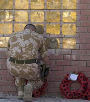 Remembrance Day in Basra