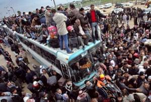 Rafah Border Crossing, Egypt