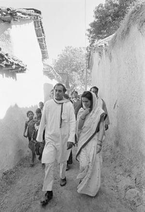 Rajiv and Sonia Gandhi