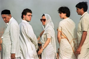 Sonia, Priyanka and Rahul
