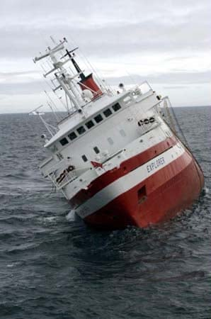 The MV Explorer