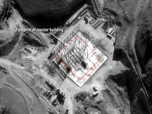 Suspected nuclear facility in Syria