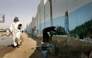 Baghdad murals