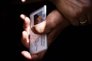 A Georgian identity card