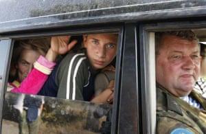 Georgian refugees