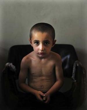 A Georgian refugee