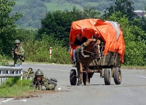Russian armed forces still occupy Georgia