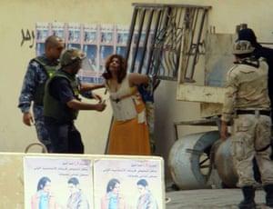 female suicide bomber in Iraq