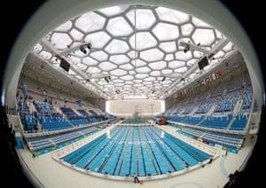 Beijing olympic aquatics centre