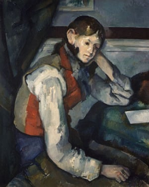 Boy in a Red Waistcoat by Francis G Mayer (1894 or 1895)