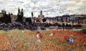 'Poppies near Vetheuil' by Claude Monet (1879)