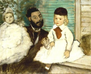 'Count Lepic and his Daughters' by Edgar Degas (1871)