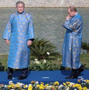 Bush putin hanoi