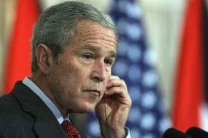 George Bush's visit to the Middle East