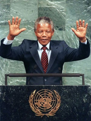 mandela at the UN 1994