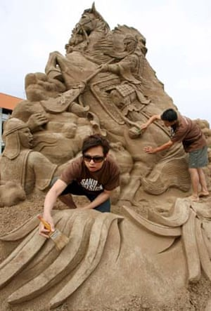 world championships of sand sculptors