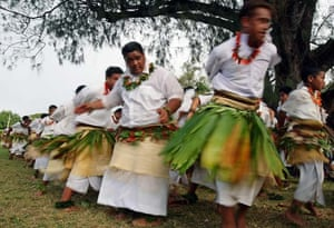 Schoolchildren begin celebrations