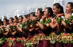 Celebrations for new Tongan king begin