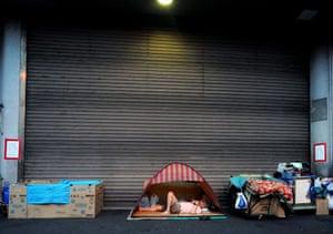 Osaka slums