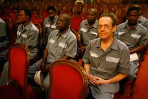 Simon Mann on trial in Malabo, Equitorial Guinea