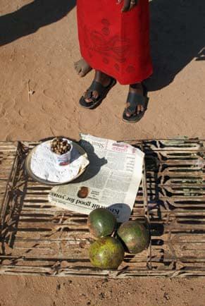 Roadside stall Bulawayo