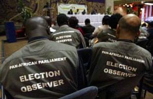 Zimbabwe election observers