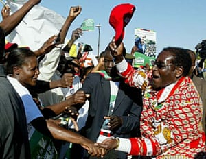 Mugabe rally