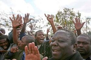 Tsvangirai speaks