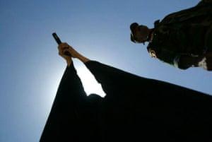 Policewoman in Iraq