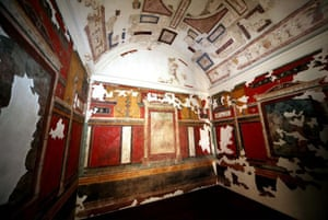The restored palace of Augustus, Rome