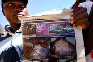 post-election violence in zimbabwe